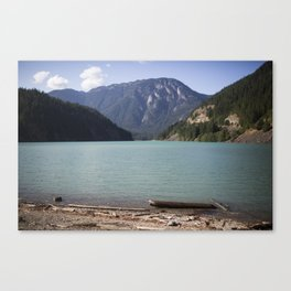 Washington Ross Lake  Canvas Print