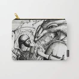 Perseus fighting the sea monster Carry-All Pouch