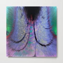 Abstract Creation - Butterfly Metal Print