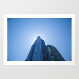 High Rise above Chicago Art Print