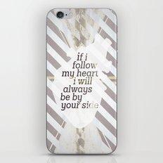 Following Heart iPhone & iPod Skin