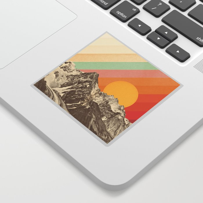 Mountainscape 1 Sticker