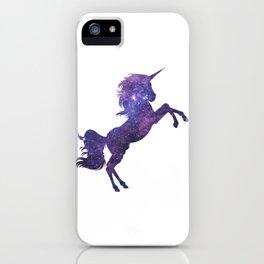 Space Glaxy Unicorn iPhone Case