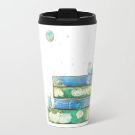 Alley Cats and the Blue Moon Travel Mug