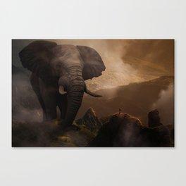 The Famous Giant Elephant by GEN Z Canvas Print