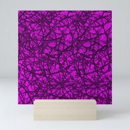 Grunge Art Abstract G55 Mini Art Print