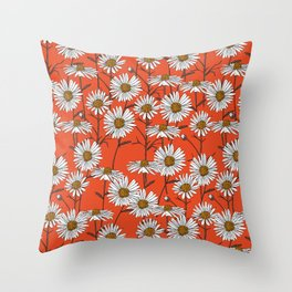 Freya's sacred flower Throw Pillow