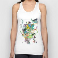 archan nair Tank Tops featuring Numb by Archan Nair