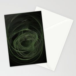 Fractal 17 - Saint Patrick's Day Love Stationery Cards
