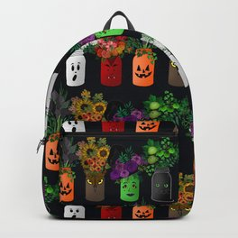 Halloween Mason Jar Bouquets Backpack