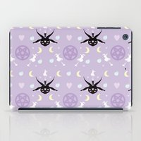 baphomet iPad Cases featuring All Hail the Cuteness! by Sugar Sparkle