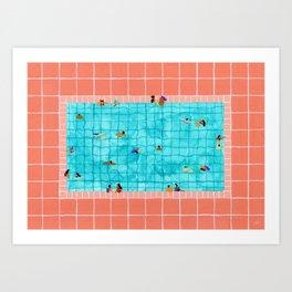 Coral Pool Art Print