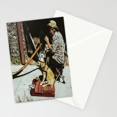 Didgeridoo and Dog Stationery Cards