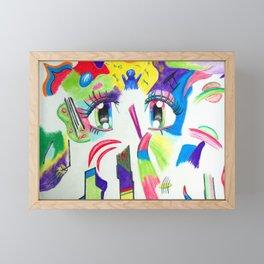 Compoze the Eyez Framed Mini Art Print
