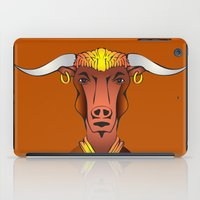 bull iPad Cases featuring Bull by ale_z