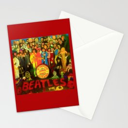 SGT PEPPER Stationery Cards