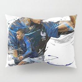 Kylian Mbappé Pillow Sham