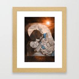 Stephen and Willow 6 Framed Art Print