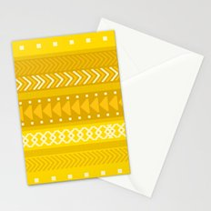 Indomitable - tribal geometrics Stationery Cards
