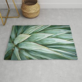 Abstract Agave Rug