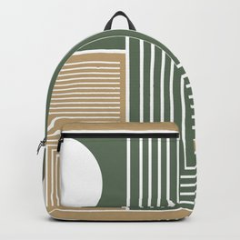 Stylish Geometric Abstract Backpack