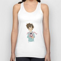 digimon Tank Tops featuring Digimon Tri by lulovera