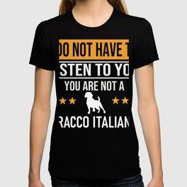 Italian Pointing Dogs Dog Lover Bracco Italiano T-shirt
