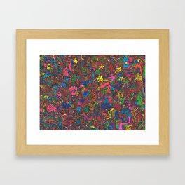 阿鼻叫喚 (Abikyoukan) Framed Art Print