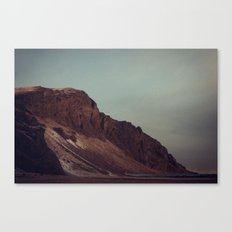 Naked Cliff Canvas Print