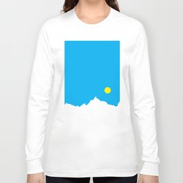 Mountain Sky Day Long Sleeve T-shirt