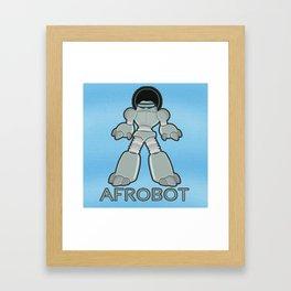 Afrobot Framed Art Print