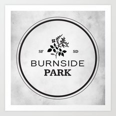 Burnside Park Art Print