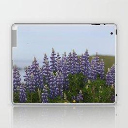 Lupine Flowers Photography Print Laptop & iPad Skin