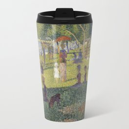 Georges Seurat's A Sunday Afternoon on the Island of La Grande Jatte Travel Mug