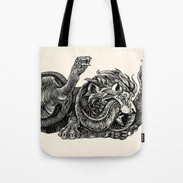Lion Heart Tote Bag