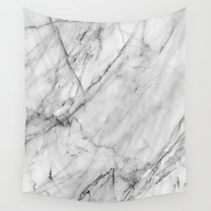 Carrara Marble Wall Tapestry