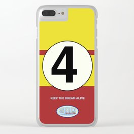 SRC Preparations. Racecar Rebels. 4 Clear iPhone Case