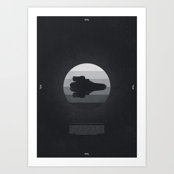 f0eac4e649c7 Faster Than Light - The Kestrel Art Print by adamflynn
