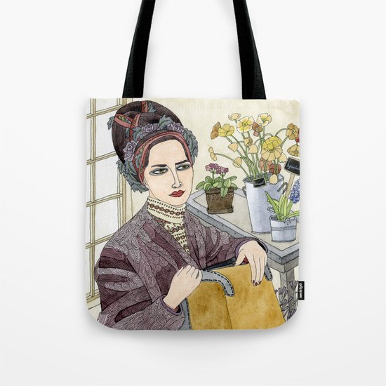 In the Flower Shop Tote Bag