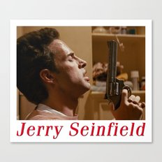 Jerry Seinfield Canvas Print
