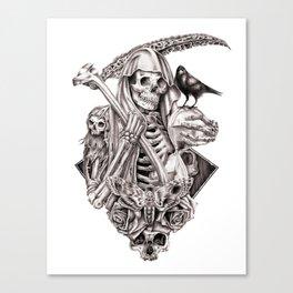 Grim Reaper Vengeance Canvas Print