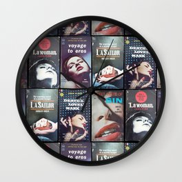 Read The Landscape 2 (Series) Wall Clock