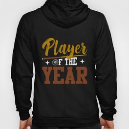 Pool Billiard 8 Ball Snooker Player of the Year Hoody