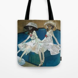 Xavier Gose - The Two Sisters Tote Bag