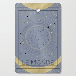 The World or Le Monde Tarot Cutting Board