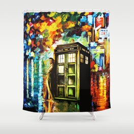 Time Lord Shower Curtain