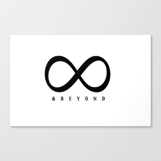 Infinity & Beyond Canvas Print