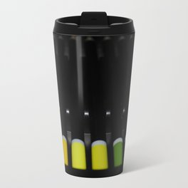 yellow green Metal Travel Mug