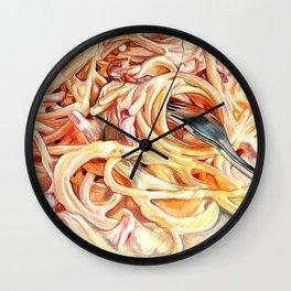 Spaghetti Wall Clock