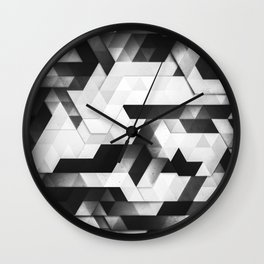 scope (monochrome series) Wall Clock
